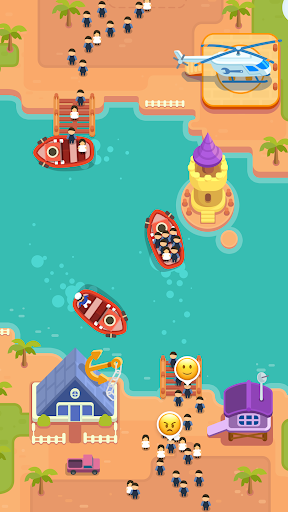 Idle Ferry Tycoon - Clicker Fun Game android2mod screenshots 2