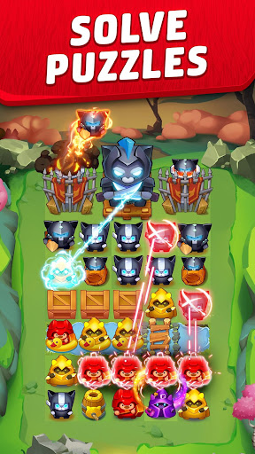 Cat Force - Free Puzzle Game screenshots 3