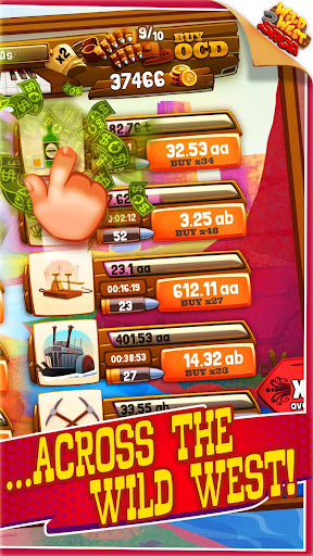 Idle Tycoon: Wild West Clicker Game - Tap for Cash 1.15.3 screenshots 1