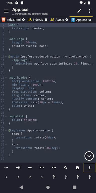 Acode - powerful code editor poster 0