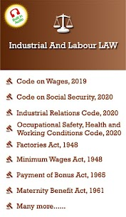 Industrial And Labour Laws / Codes Apk 4