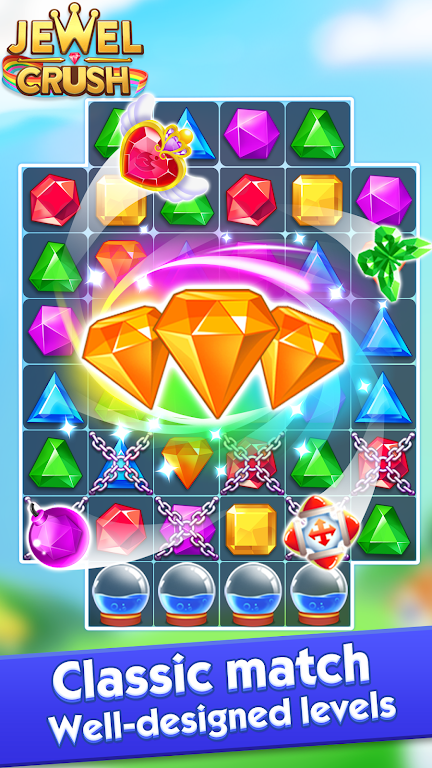 Jewel Crush™ - Jewels & Gems Match 3 Legend  poster 1
