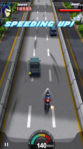 Racing Moto 3D screenshots 1