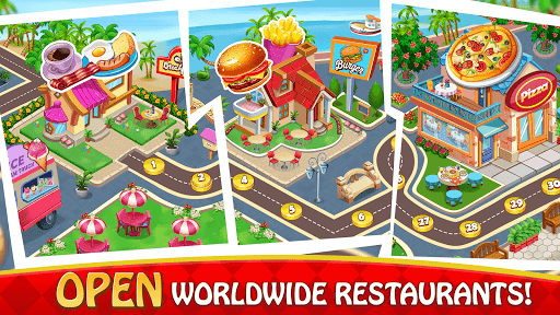 Cooking Delight Cafe Chef Restaurant Cooking Games  screenshots 8