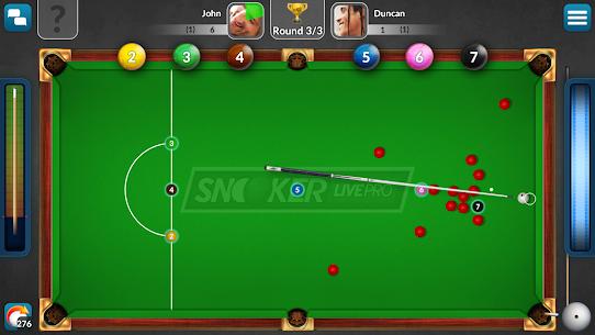 Snooker Live Pro & Six-red 2.7.1 Mod APK Download 3