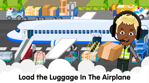 My Airport Town: Kids City Airplane Games for Free 1.6.1 Screenshots 24