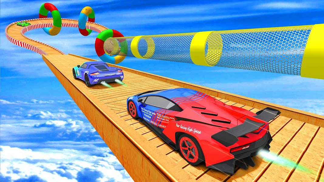Ramp Car Stunt 3D :  Extreme City GT Car Racing