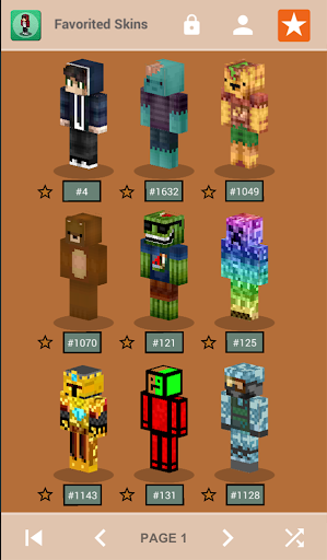 Skins for Minecraft PE 1.4 Screenshots 2