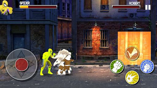 Spider Hero vs Venom Beat Em City Man Street Fight apk 1.0 screenshots 2