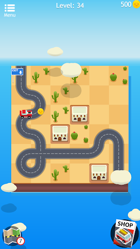 Road Trip FRVR - Connect the Way of the Car Puzzle 1.1.7 Pc-softi 4