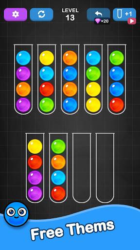 Ball Sort Puzzle - Color Sorting Balls Puzzle 1.1.0 screenshots 3