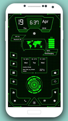 High Style Launcher 2020 - hitech homescreen theme 37.0 Screenshots 6