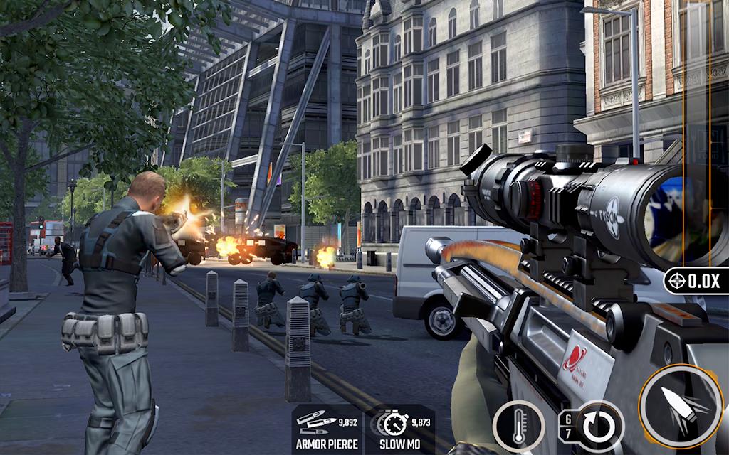 Sniper Strike APK Mod poster 0