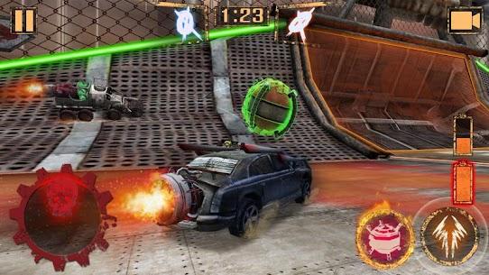 Pelota de Cohete – Rocket Car Ball 1