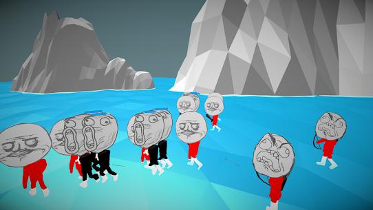 Stickman Meme Warrior Rage Simulator Hack Game Android & iOS 2