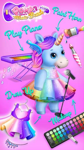 Pony Sisters Pop Music Band - Play, Sing & Design 6.0.24419 Screenshots 4