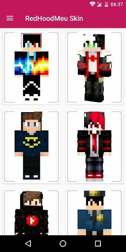 RedHoodMeu Skins for Minecraft PE  screenshots 1