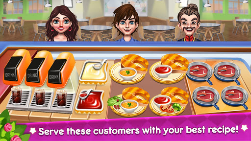 Kitchen Star Craze - Chef Restaurant Cooking Games  screenshots 18