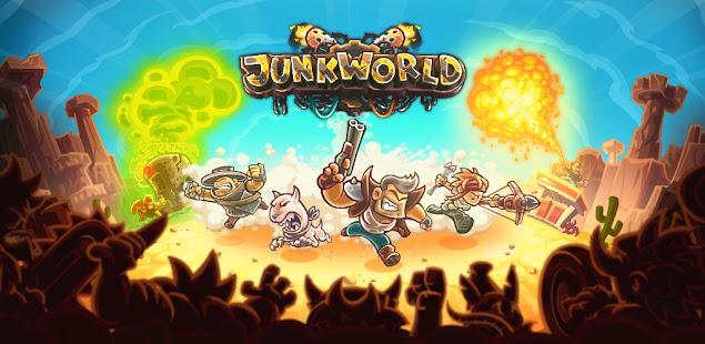 junkworld - tower defense game hack