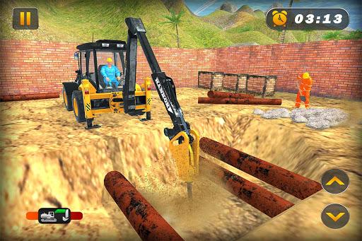 Heavy Excavator Crane Simulator Construction Games apkdebit screenshots 1