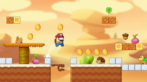 Super Bobby's World - Free Run Game apktreat screenshots 2