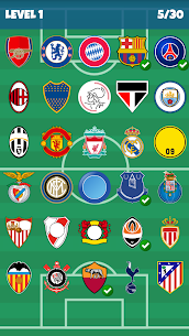 Football Clubs Logo Quiz Full Apk İndir 4