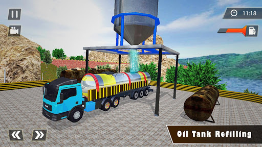 Indian Oil Tanker Cargo Truck Game apkpoly screenshots 3