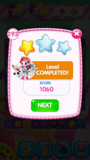 Code Triche Sweet Candy Sugar: Match 3 Puzzle 2020 (Astuce) APK MOD screenshots 5