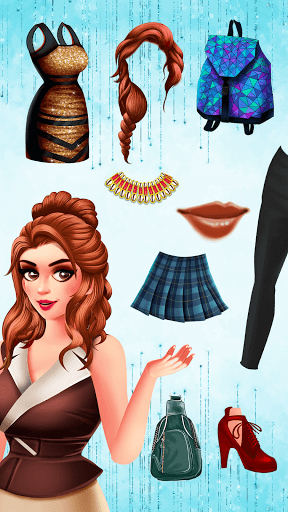 Télécharger Gratuit Fashion Games Stylist- Dress up Games Makeup Games APK MOD (Astuce) screenshots 2