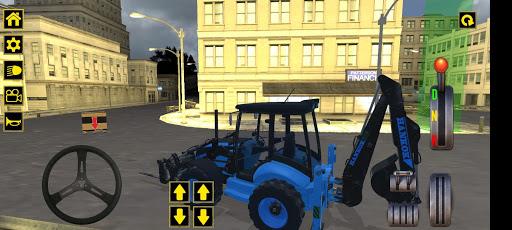 Excavator Jcb City Mission Simulator android2mod screenshots 6