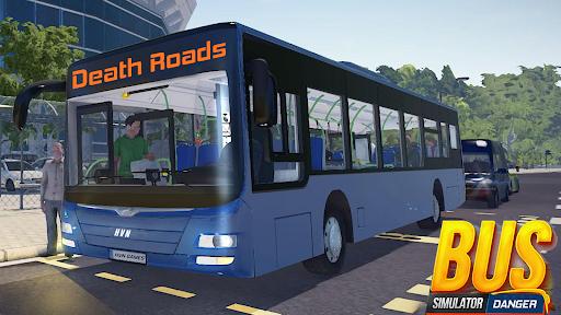 Bus Simulator : Dangerous Road screenshot 14