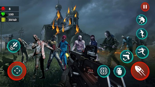 Dead Strive: Zombie Survival FPS Shooting For Android 5