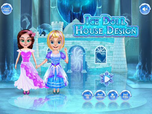 Ice Doll House Design: Decoration games 1.0.7 screenshots 3