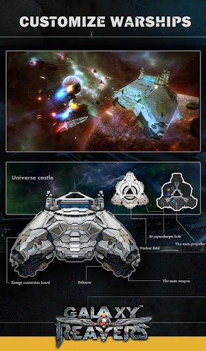 Galaxy Reavers - Starships RTS apkmr screenshots 19