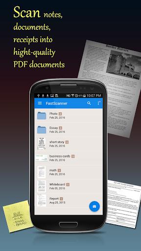 Fast Scanner : Free PDF Scan  screenshots 1