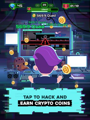 Hacking Hero - Cyber Adventure Clicker screenshots 8