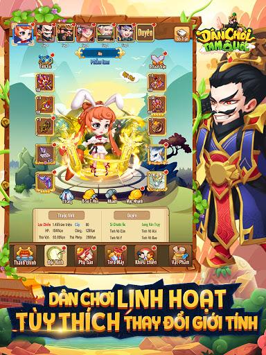 Du00e2n Chu01a1i Tam Quu1ed1c - Dan Choi Tam Quoc  screenshots 10