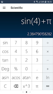 Math Calculator with Equation Solver