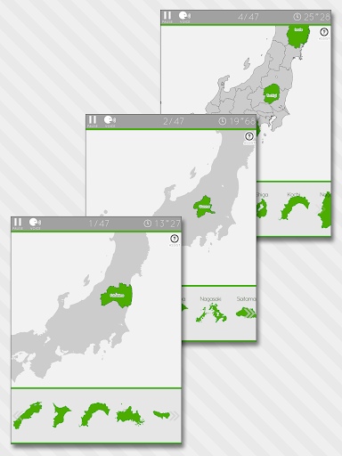 Enjoy Learning Japan Map Puzzle  screenshots 8