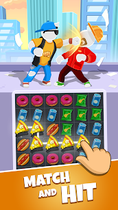 Match Hit – Puzzle Fighter Apk Download NEW 2021 1