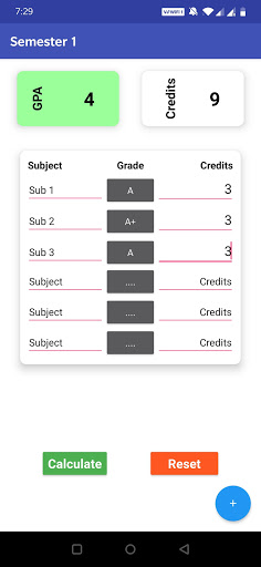 GPA Calculator screenshot 20