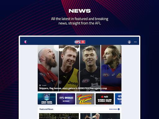 AFL Live Official App  screenshots 7