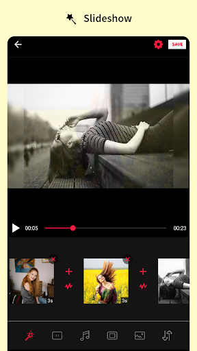 Photo editor & Music video maker android2mod screenshots 21