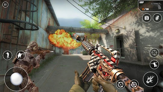 FPS Cover Strike 2021 Mod Apk (God Mode/Dumb Enemy) 1