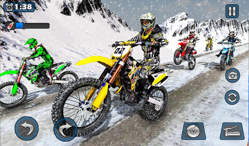 Dirt Bike Racing 2020: Snow Mountain Championship 1.0.8 screenshots 15