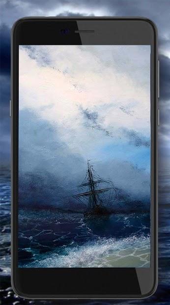 Ocean Storm Live Wallpaper screenshot 2
