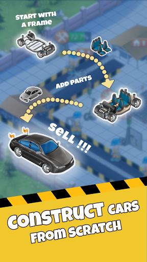 Idle Car Factory: Car Builder, Tycoon Games 2021 APK MOD – Pièces de Monnaie Illimitées (Astuce) screenshots hack proof 1
