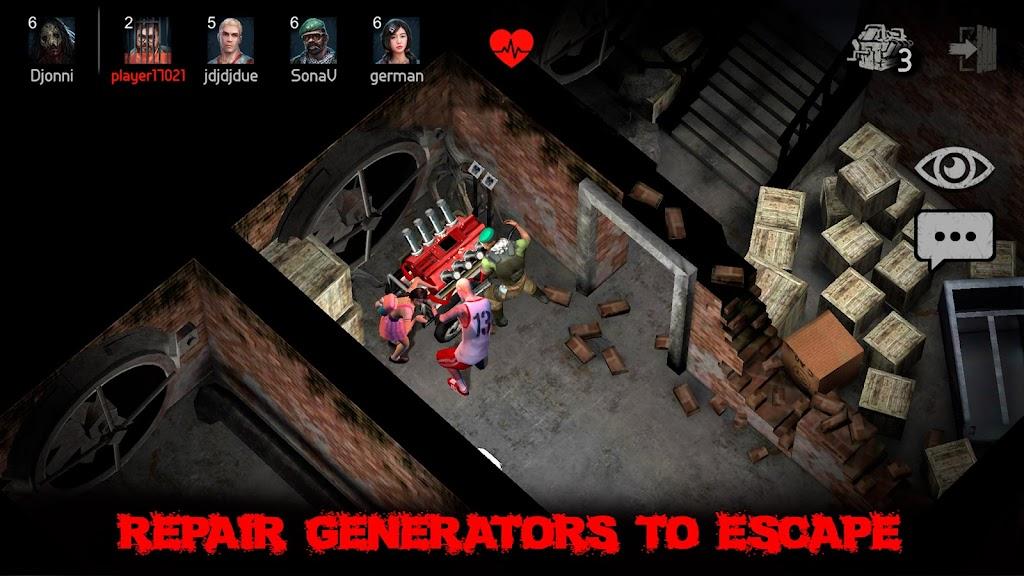 Horrorfield Multiplayer horror  poster 3