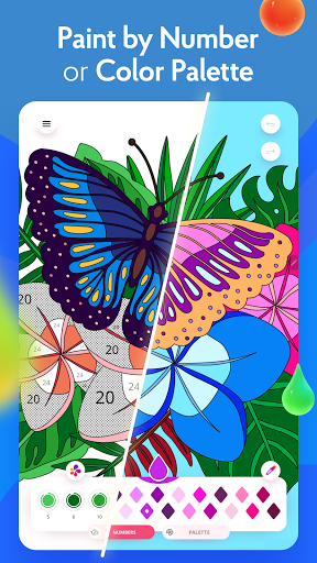 Painting games: Adult Coloring Books, Drawings screenshots 9
