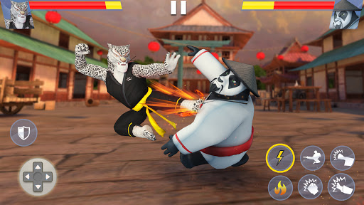 Kung Fu Animal Fighting Games: Wild Karate Fighter screenshots 1